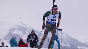 Biathlet Philipp Nawrath