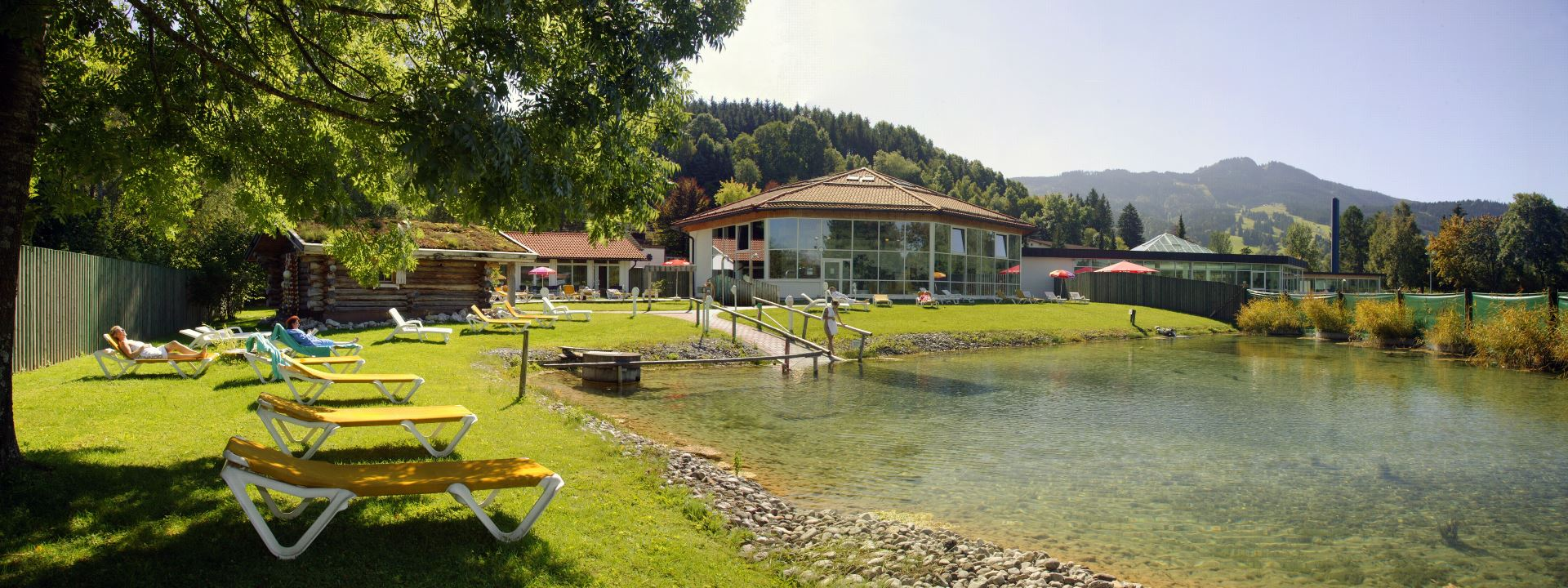 Alpspitz-Bade-Center in Nesselwang im Allgäu