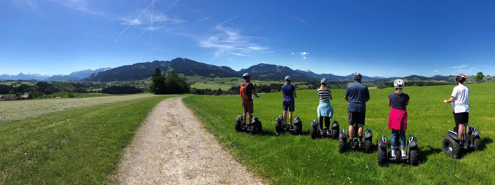 Segway Tour in Nesselwang im Allgäu, © Patrick Jonas - Perfect Joy